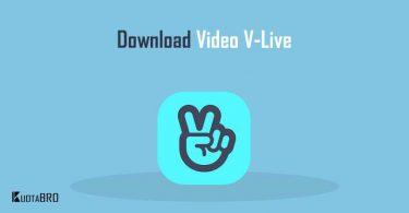 Cara Download Video di V-live
