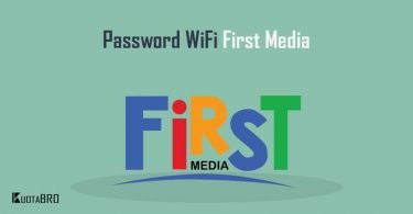 Cara Mengganti Password WiFi First Media