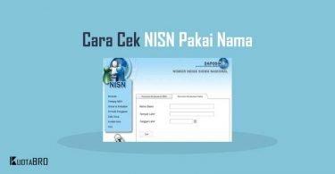 Cara Cek NISN Berdasarkan Nama