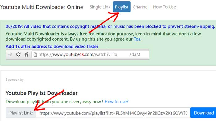 Cara Download Playlist YouTube Tanpa Aplikasi