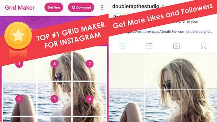 Cara Membuat Feed Instagram Nyambung dengan InstGrid