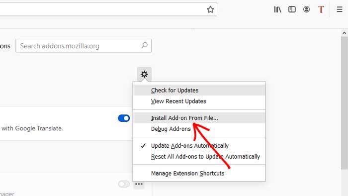 Cara Menampilkan IDM di YouTube Mozilla Firefox