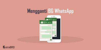 Cara Mengganti Background WhatsApp