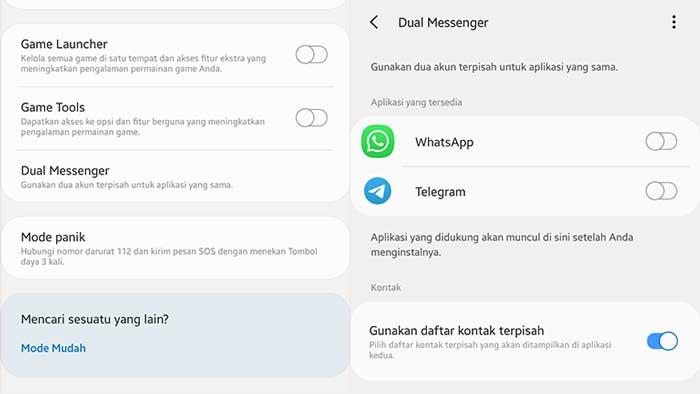 Cara Menggunakan 2 WhatsApp dengan Clone Android