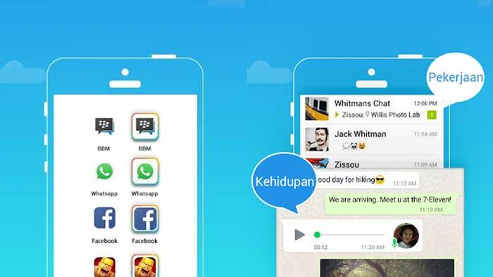 Cara Menggunakan 2 WhatsApp dengan Parallel Space