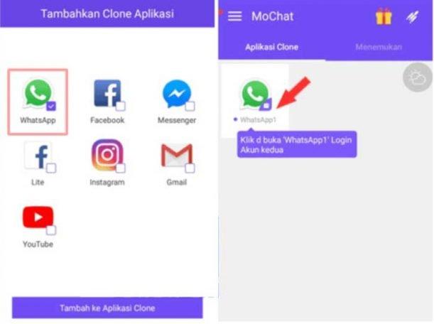 Cara Menggunakan Dua WhatsApp