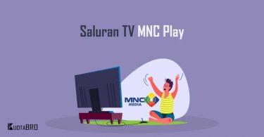 Daftar Channel MNC Play Media