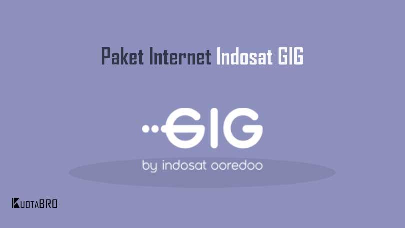 Paket Internet Indosat GIG