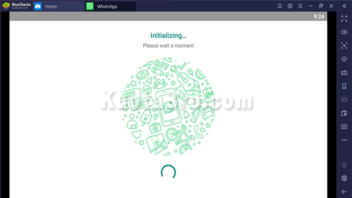 cara video call whatsapp di windows