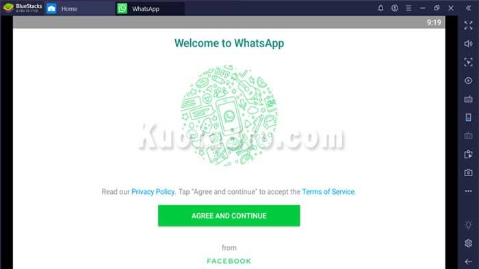 video call whatsapp di laptop