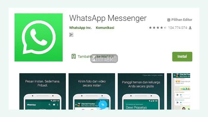 Cara Memperbarui WhatsApp dengan Install Ulang