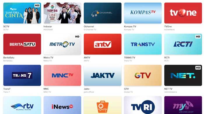Cara Nonton TV di Laptop dengan Vidio com