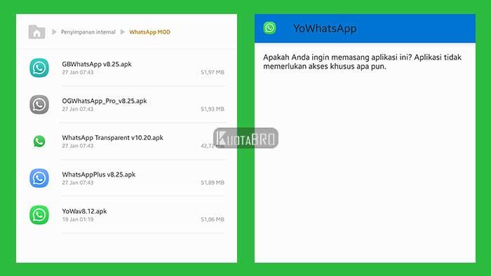 Download Aplikasi WhatsApp MOD