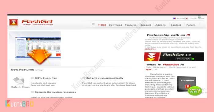 FlashGet Downloader
