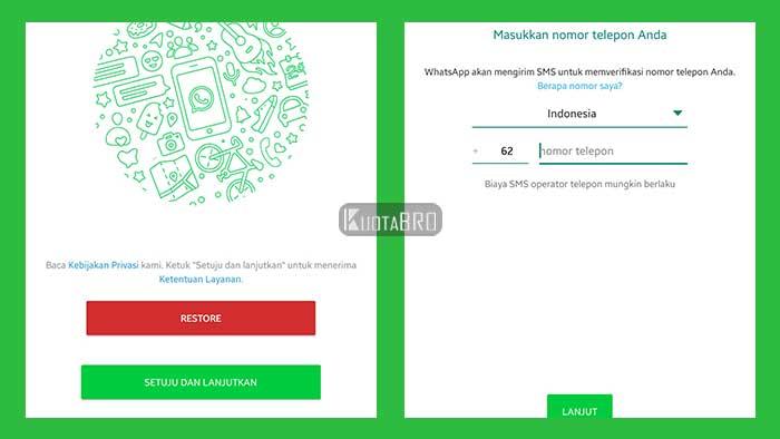 Konfigurasi WhatsApp