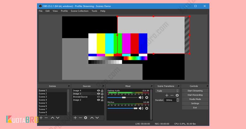 OBS: Open Broadcaster Software