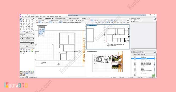 vectorwork architecture
