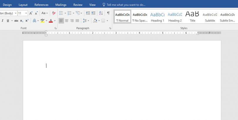 cara mengatur ukuran f4 di Word