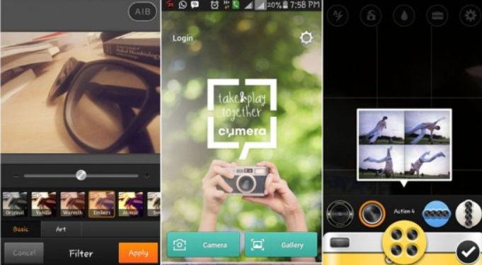 cymera aplikasi edit foto