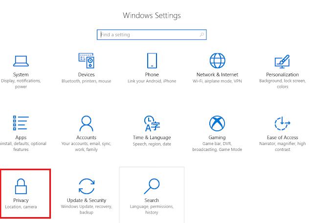 cara mematikan iklan pada windows 10