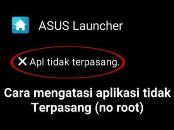 penyebab aplikasi tidak terpasang