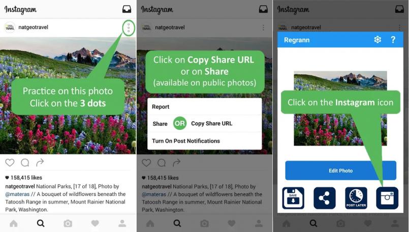 Cara Repost Instagram Memakai Aplikasi Regrann Pro – Repost for Instagram