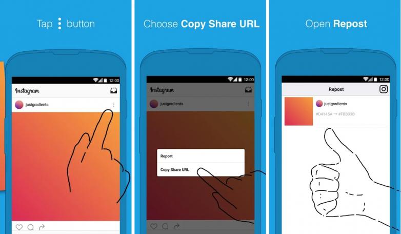 Cara Repost Instagram Memakai Aplikasi Repost for Instagram