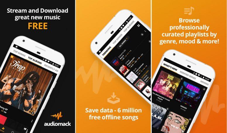 Download Audiomack aplikasi download lagu mp3