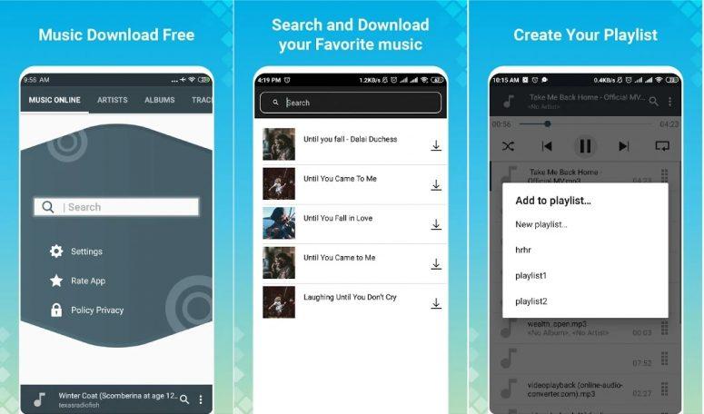 link Download Music Mp3 aplikasi download lagu mp3