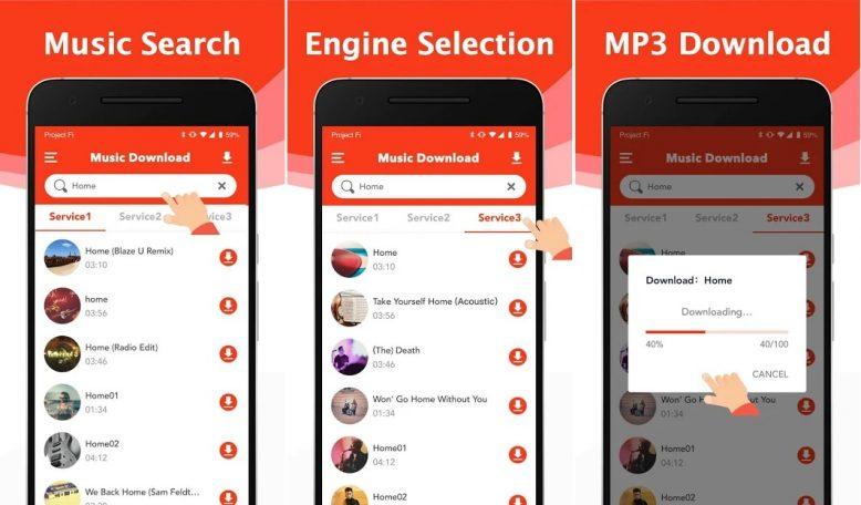 download Free Mp3 – Mp3 Music Downloader aplikasi download lagu mp3