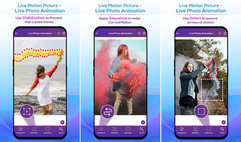 Cara Membuat Foto Bergerak Memakai Aplikasi Live Motion Picture - Live Photo Animation