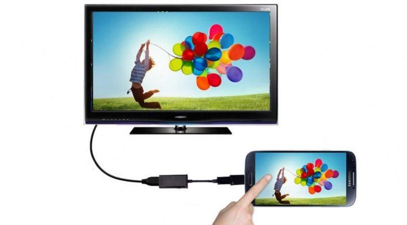 cara Menghubungkan HP ke TV Memakai kabel HDMI