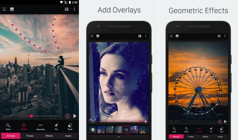Cara Membuat Foto Bergerak Memakai Aplikasi PixaMotion