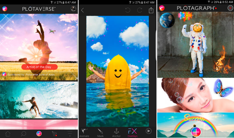 Cara Membuat Foto Bergerak Memakai Aplikasi Plotagraph