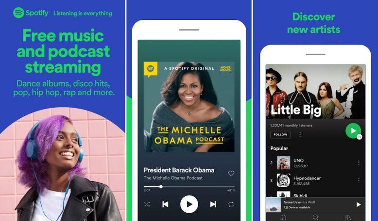 Download Spotify aplikasi download lagu mp3