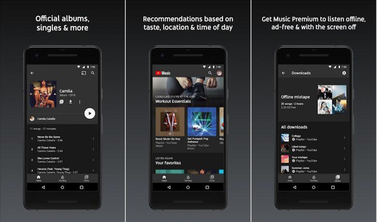 Download Youtube Music aplikasi download lagu mp3