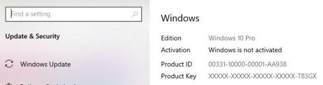 cara melihat lisensi windows 10