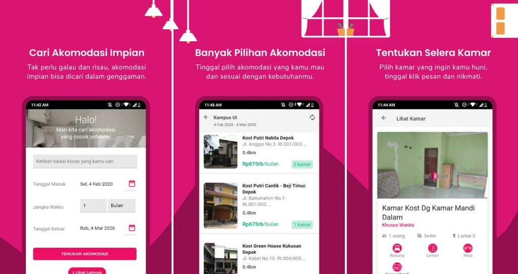 Aplikasi-Cari-Rumah-Kontrakan-CariKosan