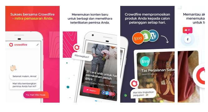 Aplikasi Penambah Followers Gratis - crowdfire img 1