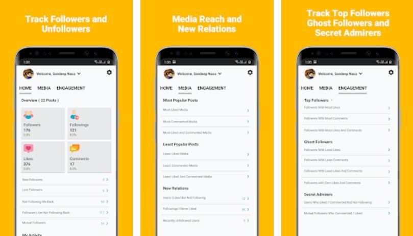 Aplikasi Penambah Followers Gratis - insights img