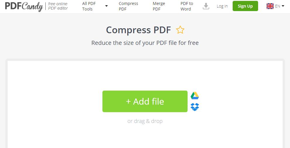 Cara Kompres PDF Dengan Mudah - kompres pdf via pdf candy 1