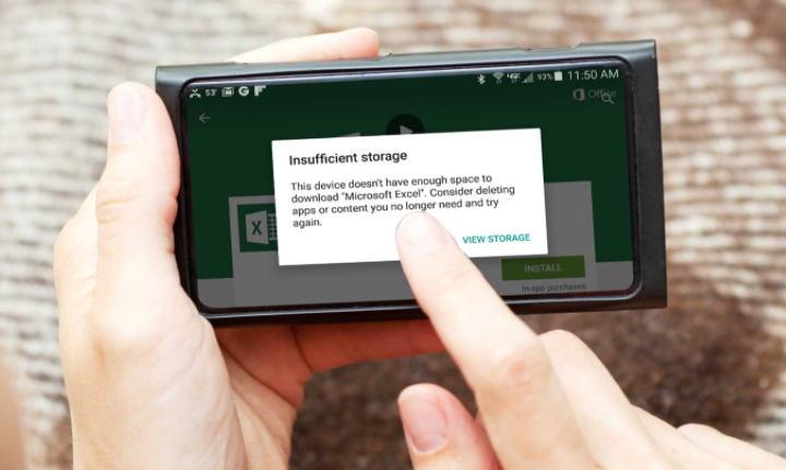 Cara Mengatasi Aplikasi Tidak Terpasang - memori tidak cukup