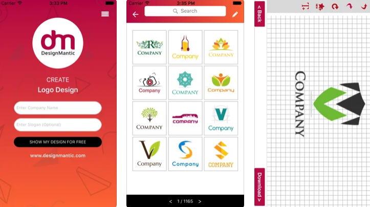 21+ Aplikasi Pembuat Logo Android, iOS dan PC - DesignMantic img
