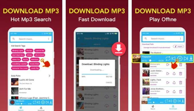 Aplikasi Download Lagu Terbaik - Free Music Downloader img