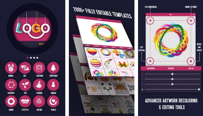 21+ Aplikasi Pembuat Logo Android, iOS dan PC - Logo Generator Logo Maker img