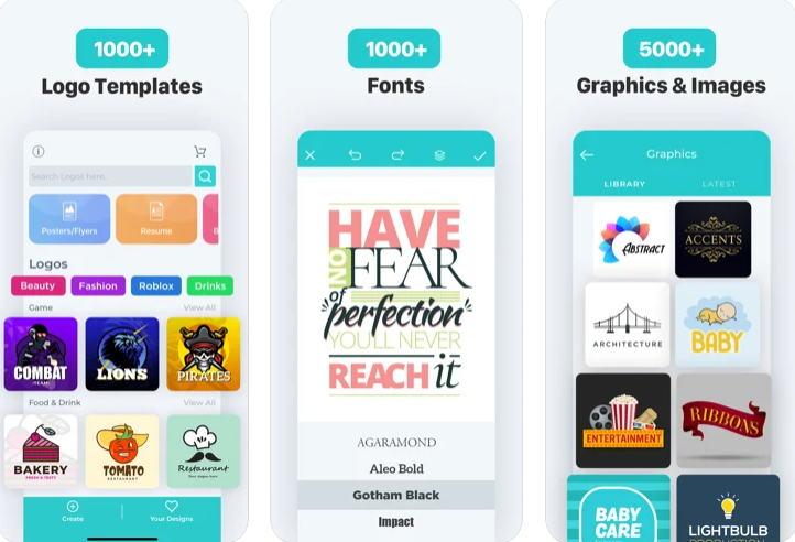 21+ Aplikasi Pembuat Logo Android, iOS dan PC - Logo Maker A Design Creator img