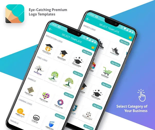 21+ Aplikasi Pembuat Logo Android, iOS & PC (Terbaru 2021)