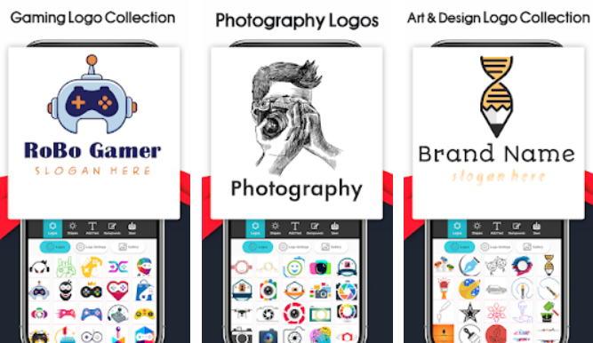 21+ Aplikasi Pembuat Logo Android, iOS dan PC - Logo Maker Logo Creator Generator Designer img