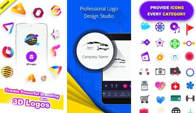 21+ Aplikasi Pembuat Logo Android, iOS dan PC - Logo Maker Logo Design Generator img