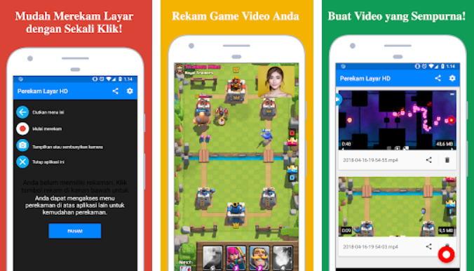 8 Aplikasi Perekam Layar Android Terbaik (Update 2021) - Screen Recorder Perekam Video Game Dengan Kamera img